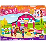 Mega Bloks My Life As Blue Ribbon Ranch Play Set