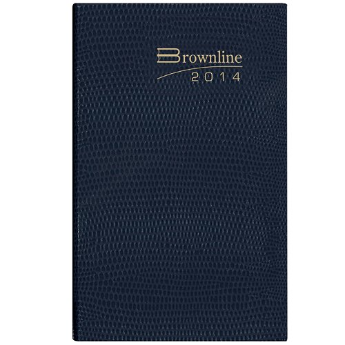 brownline-2014-weekly-pocket-planner-flexible-cover-assorted-colors-color-may-vary-6-x-31875-inches-