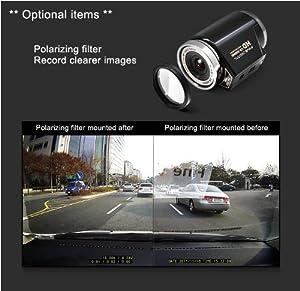 FineVu Polarizing Filter for CR-500HD CR-300HD Car Dash Cam Black Box