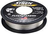 Stren Fluorocast Fluorocarbon Fishing Line, Clear, 100-Yard/6-Pound