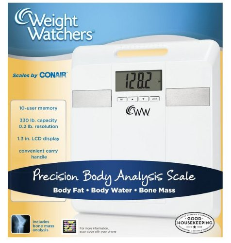 conair weight watchers body analysis scale manual