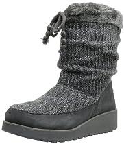 Big Sale Best Cheap Deals Skechers Women's Visioneers-Mid Snow Boot,Charcoal,7 M US