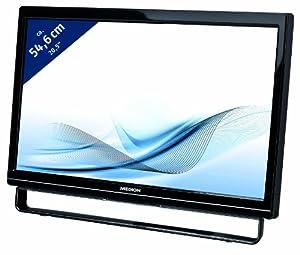 "Medion  E54009 Ecran PC LCD 21,5"" LED VGA Noir glossy"
