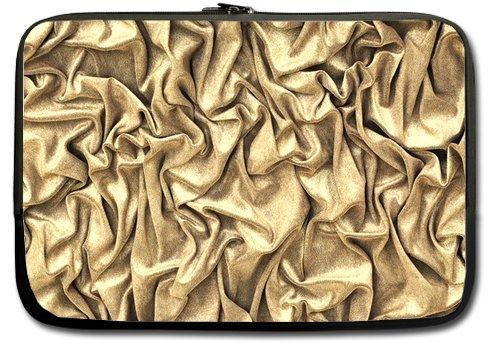 Fashion Shine Bling Golden 13 Inch Laptop Sleeve Bag For Laptop / Notebook / Ultrabook / Macbook front-21087