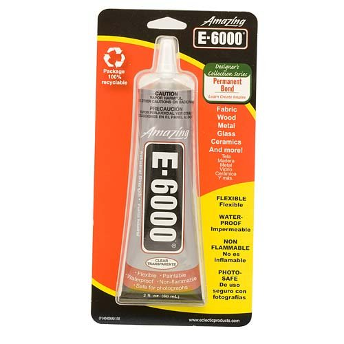 E6000 237032 Craft Adhesive, 2 oz, Clear