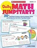 img - for Daily Math Jumpstarts: 200+ Quick Math Problems to Rev Up Students' Brains and Reinforce the Math Skills They Need to Know (Teaching Resources) book / textbook / text book