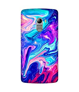 Colourful Marble Printed Back Cover Case For Lenovo K4 Note