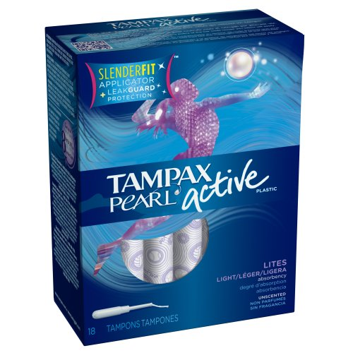 tampax-tampax-pearl-plastic-unscented-lites-tampons-18-each-by-tampax