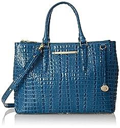 Brahmin Lincoln Satchel Top Handle Bag