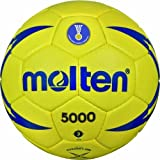Molten H3X5001 Handball IHF Approved Official Game Ball Hand Stitched Size 3 by Molten