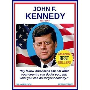 John F. Kennedy 1917-1963, Retro Comics 14, Historical Biography 3