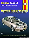 img - for H42014 Haynes Honda Accord 1998-2002 Repair Manual book / textbook / text book
