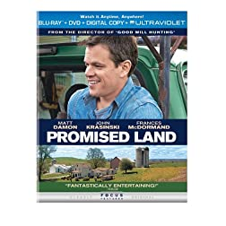 Promised Land (Blu-ray + DVD + Digital Copy + UltraViolet)