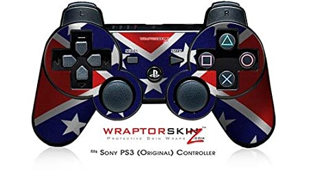 Sony PS3 Controller Skin - Confederate Flag