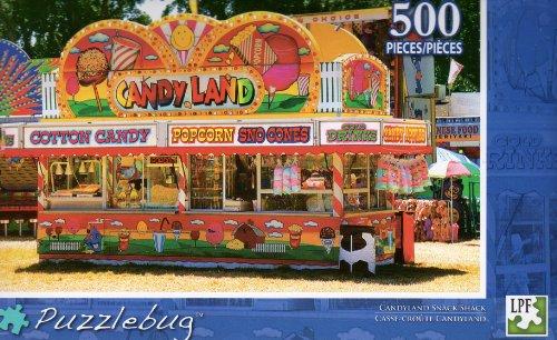 Candyland Snack Shack - Puzzlebug - 500 Pc Jigsaw Puzzle - NEW - 1