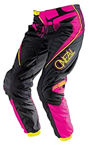 O'Neal Element Women's Limited Edition Pants (Black/Pink, Size 9/10)