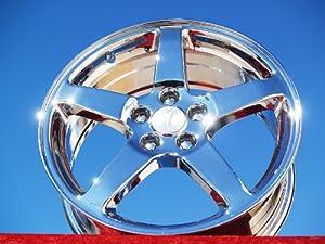 Pontiac G6: Set of 4 genuine factory 17inch chrome wheels