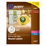 Avery Easy Peel Permanent Print-To-Th...