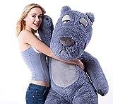 Doremo global  テディペア  ぬいぐるみ  くま  特大  150cm 大きいサイズ くま/抱き枕/クマ縫い包み/お祝い/ふわふわぬいぐるみ