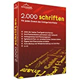 Digital Software - 2.000 Schriften [Download]
