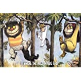 1 X Where the Wild Things Are Hanging From Trees Art Print Poster