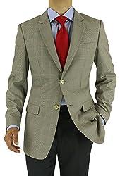 Marzzotti Rossi Classic Sport Men's Suit Jacket Two Button Blazer
