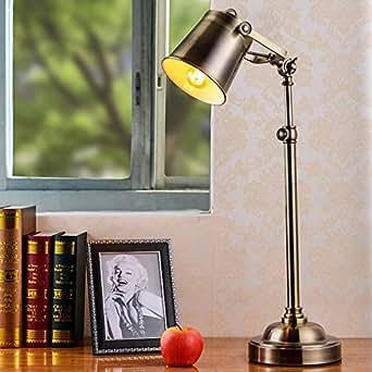 LIJUN Office Work Study Lamp Decoration Lamp Living Room Bedroom Amazon