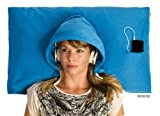 HoodiePillow® Hooded Pillowcase - Blue