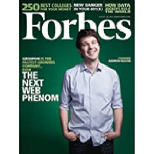 Forbes, August 16, 2010 Periodical