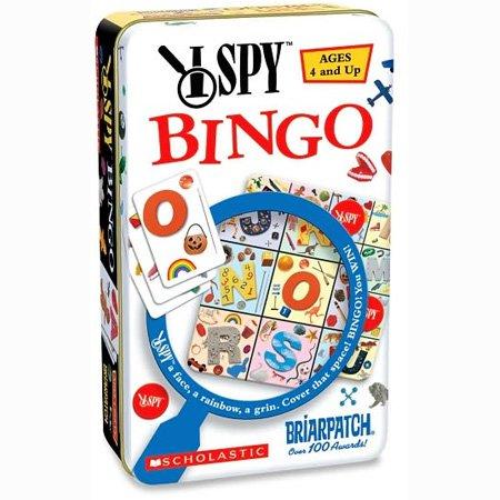 I Spy Bingo Tin