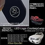 Seametalメルセデスベンツ カーテシ LED ロゴライト アンダースポット / ドアライト / カーテシライト (CクラスW204 C260 C300 C200 C280 C230)