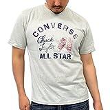(コンバース) CONVERSEスニーカー カスレプリント 半袖 Tシャツ