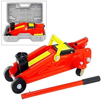 Jack-in-a-Box 2-Ton 4000 Lb Lift Capacity Easy-Carry Hydraulic Jack with Storage Case