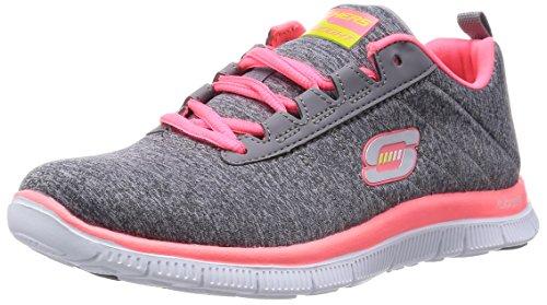 Skechers Flex AppealNext Generation, Sneaker donna, Grigio (Grau (GYCL)), 39