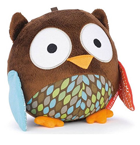 Chime Ball Treetop Friends Owl Baby Rattle Toy 0-12Months Child Educational Brand Product front-1059581