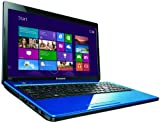 Lenovo G580 15.6 inch laptop - Blue (Intel Celeron B830 1.8GHz, 4Gb RAM, 320Gb HDD, DVDRW, LAN, WLAN, Webcam, Windows 8)