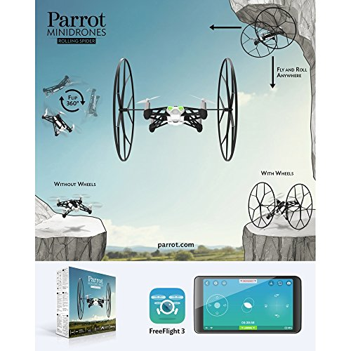 Parrot Rolling Spider Test - 16