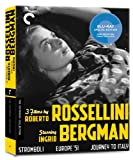 3 Films By Roberto Rossellini Starring Ingrid Bergman (Criterion Collection) [Blu-ray]