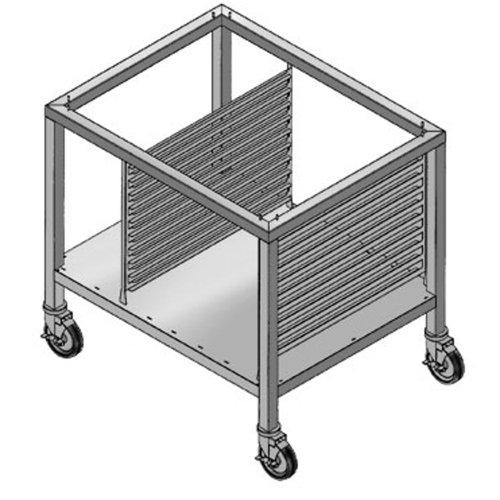 "Alto-Shaam 32-1/16"" Mobile Stand W/ Pan Slides & Shelf"