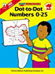 Dot-To-Dot Numbers 0-25, Grades PK - 1