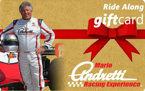 Mario Andretti Race Experience Gift Card - $130 front-852715