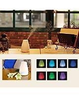 JCLIVETEK® 120ML Umidificatore ad Ultrasuoni / Diffusore di Aromi / Diffusore di Oli Essenziali, 7 colori LED