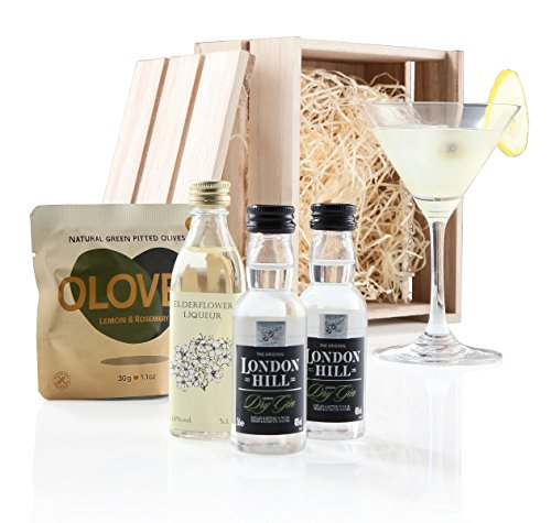 luxurious-elderflower-martini-gift-crate-includes-martini-glass-2-x-miniature-london-hill-dry-gin-el