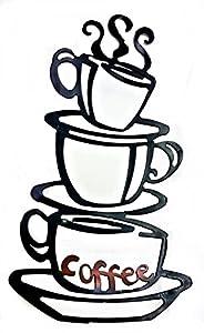 Amazon.com | Coffee House Cup Java Silhouette Wall Art ...