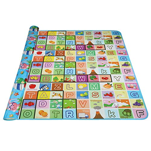 Arshiner Baby Kid Toddler Play Crawl Mat Carpet Playmat Foam Blanket Rug for In/Out Doors (Outdoor Baby Mat compare prices)