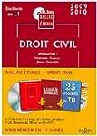 CD Code Etu. Droit Civil Premi�re Ann...