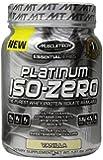 Muscletech Essential Series Us MT Platinum 100% ISO Zero Supplement, Vanilla, 1.51 Pound