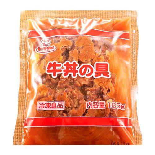 ロイヤルシェフ 牛丼の具 185g 冷凍