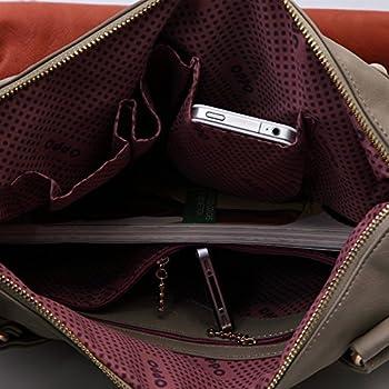 Ilishop Women's Classic Fashion Tote Handbag Shoulder Bag Perfect Large Tote with Shoulder Strap 2