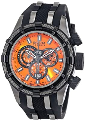 Invicta Men's 80670 Bolt Analog Display Swiss Quartz Black Watch